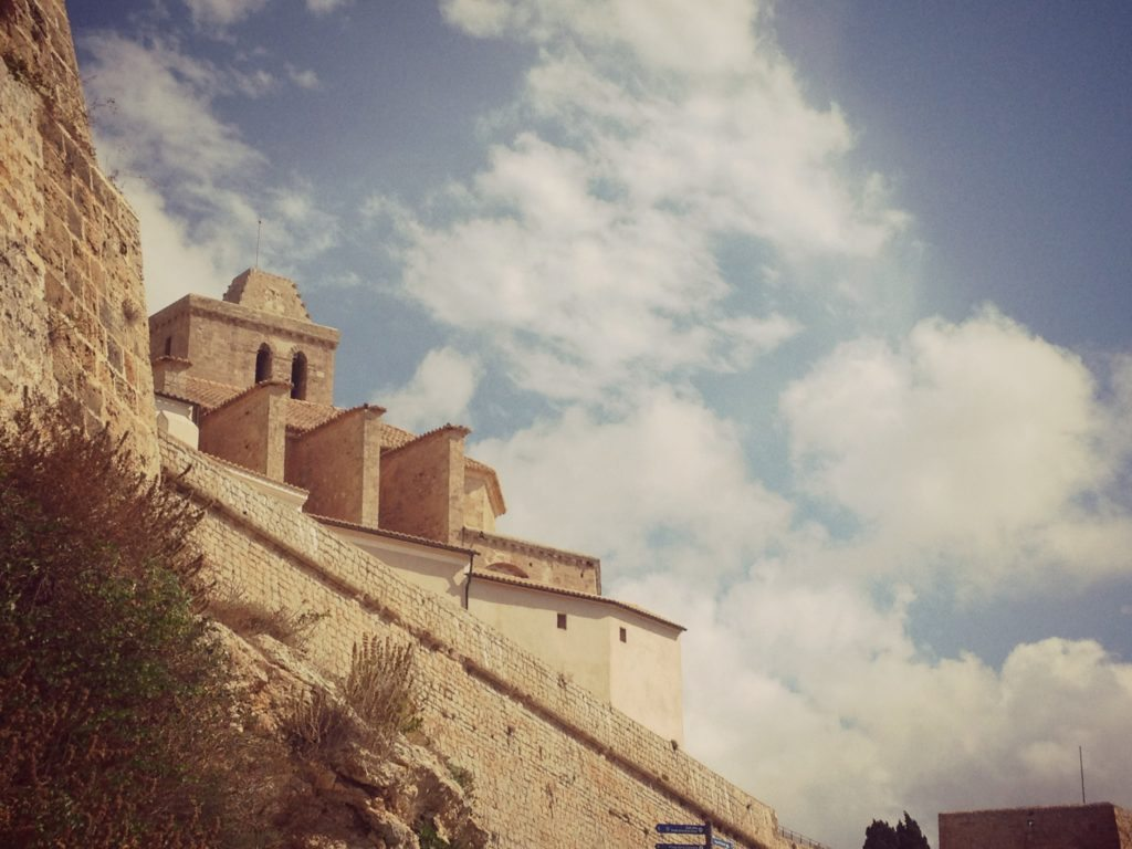 Photo of Dalt Vila Fortress in Ibiza's Old Town