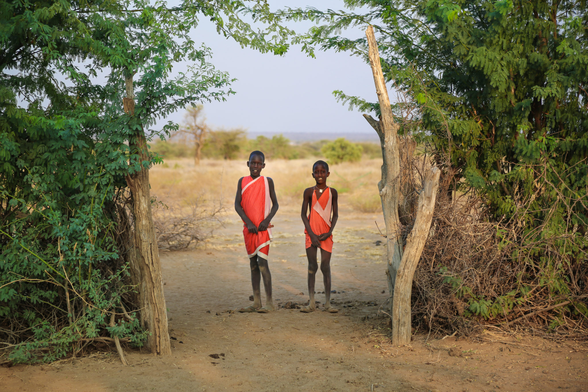 Young Maasai Boys in Boma i_Mar Gone Wild