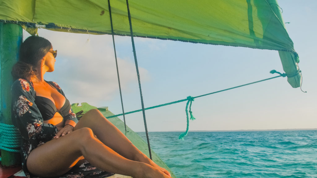 Sunset Sail on Dhow in Mozambique