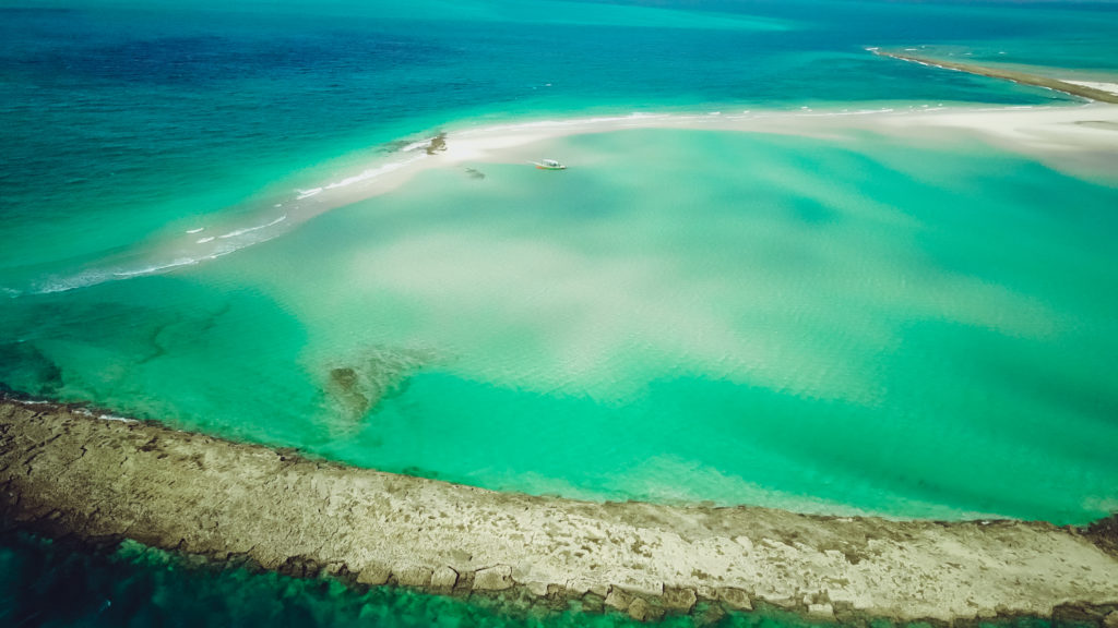 Sandbanks in Bazaruto Archipelago Mozambique