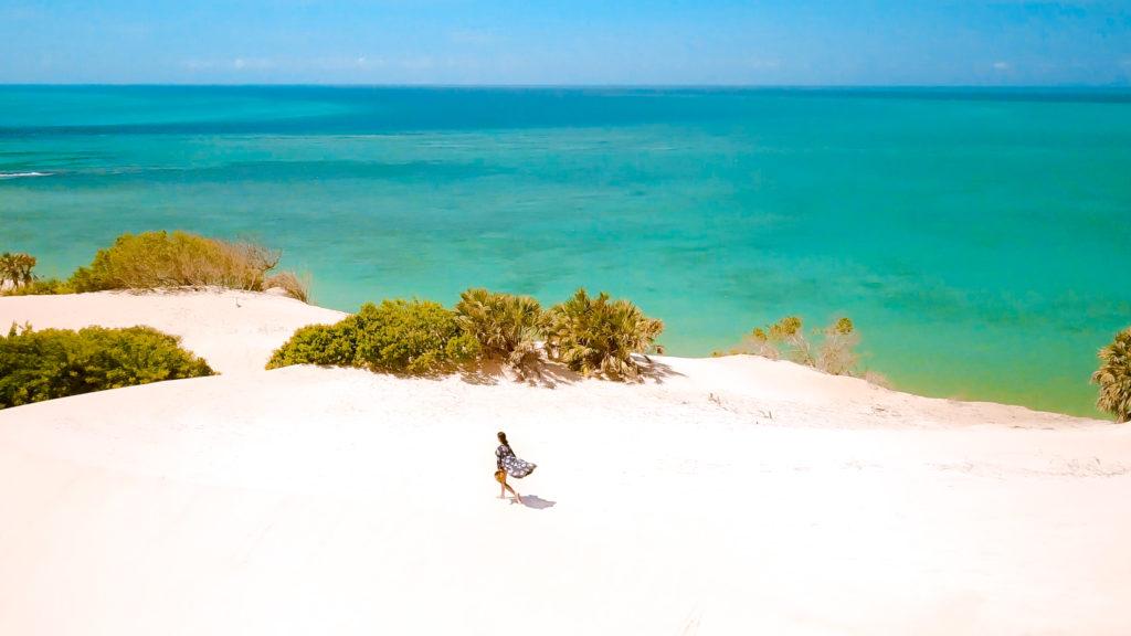 Magaruque Island Sand Dune Mozambique