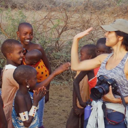 Marlina Moreno_Filming in Kenya